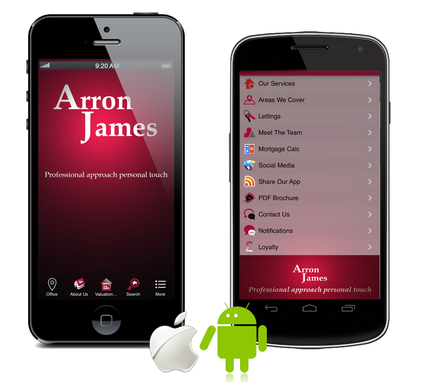 Arron James App